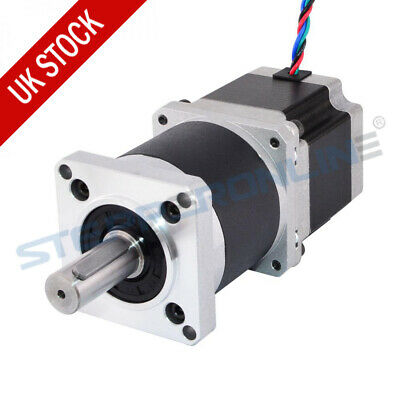 Nema 23 Geared Stepper Motor 50:1 High Precision Planetary Gearbox 2.8A 4-wire