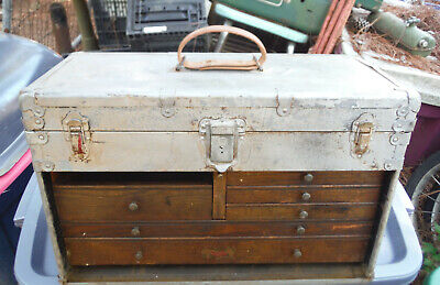 Sipco Machinist Tool Box Vintage