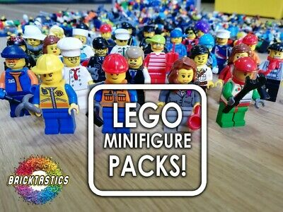 Lego  Minifigures X10 Bulk Packs - Affordable Great Mix + Includes Accessories!