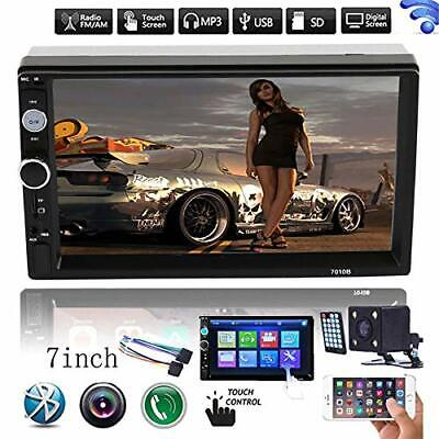 7 '' Double Bluetooth 2DIN USB/MP5 Player Car FM Stereo Radio Touch Screen UK