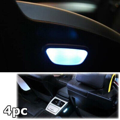 For Bmw E92 E93 Rear Footwell Interior White Led Upgrade Kit 4Pc Smd