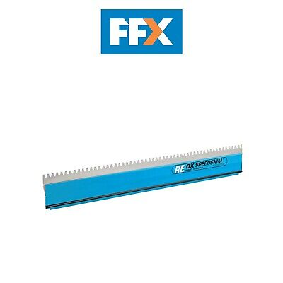 Ox Tools OX-P534360 600mm Speedskim Stainless Steel Notched Rendering Blade