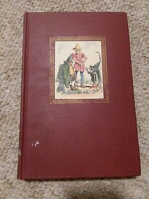 Vintage 1945 GRIMMS' FAIRY TALES Hardcover Book Illustrated by Fritz Kredel