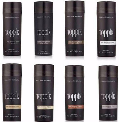27.5g Toppik Hair Fibres BUY 3 and get a 4th Bottle FREE (ADD 4 TO BASKET)