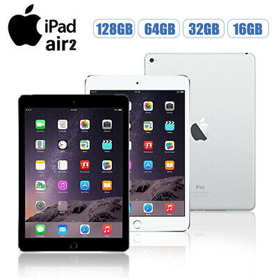 Apple iPad Air 2 16/32/64/128GB Wi-Fi or 4G 9.7in All Colours Various Grades