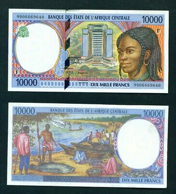 CENTRAL AFRICAN REPUBLIC - 1999 10000 Francs Code F UNC