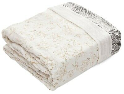 Aden & Anais Oversized Silky Soft Muslin Baby Blanket Pretty Petals-Branches NEW