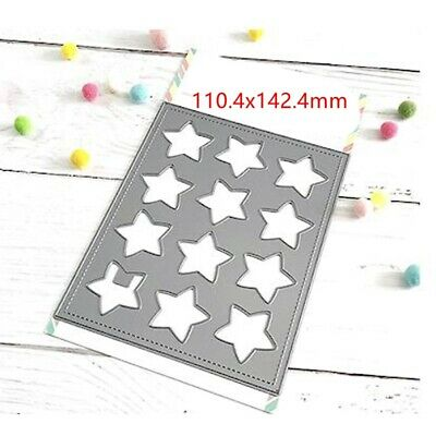 Star Hollow Frame Cutting Dies Stencil Scrapbooking album Embossing DIY Crafts