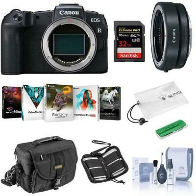 Canon EOS RP Mirrorless Full Frame Digital Camera Body With Free PC Acc Bundle