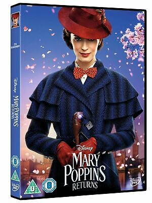 Mary Poppins Returns DVD. New and sealed. Free delivery.