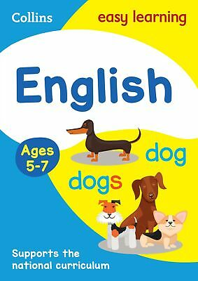 English Ages 5-7 by Collins Easy Learning Paperback NEW Book
