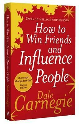 How to Win Friends and Influence People by Dale Carnegie Paperback NEW Book