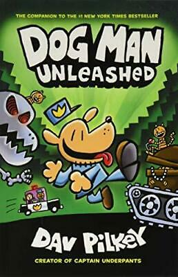 The Adventures of Dog Man 2: Unleashed by Dav Pilkey Paperback NEW Book