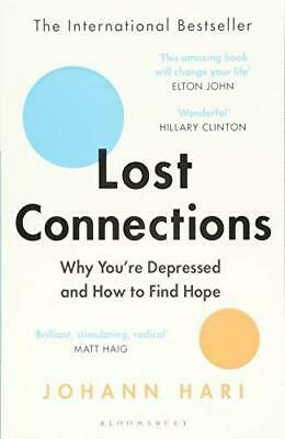 Lost Connections by Johann Hari New Paperback Book