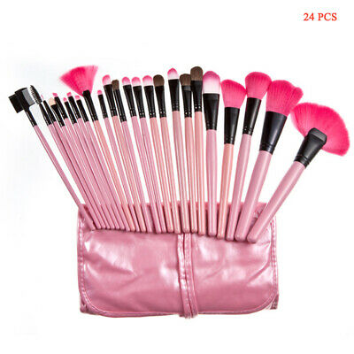 Makeup Brushes Set High Quality Full Function Pro Studio Synthetic Tools 24PCS