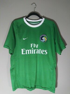 339fa04b191 Nike MLS New York Cosmos Fly Emirates Soccer Team Jersey Adult (L) NASL  Patch