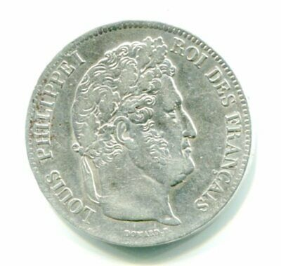 France Louis Philippe I   5 Francs  , Annee 1838  B   Argent  Silver Coin