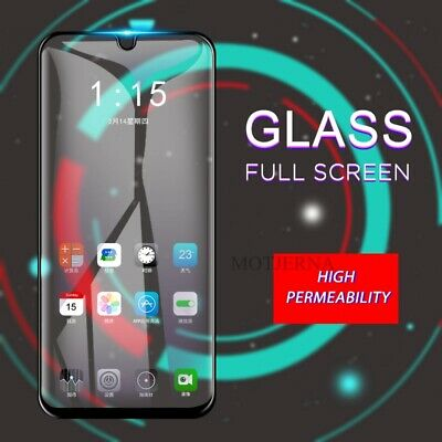 For Samsung Galaxy A40 (2019) Tempered Glass LCD Screen Protector Black