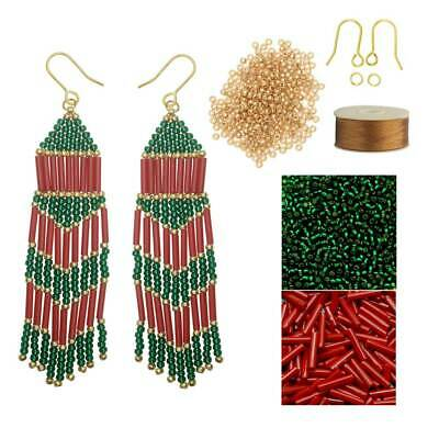 52a89f3300fe5 REFILL, LONG BEADED Kumihimo Necklace, Green and Gold, Beadaholique ...
