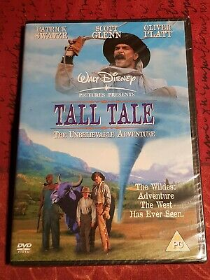 Tall Tale - The Unbelievable Adventure (NEW SEALED Disney DVD PAL) P.Swayze