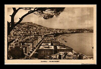 Dr Jim Stamps Napoli Italy General View Postcard