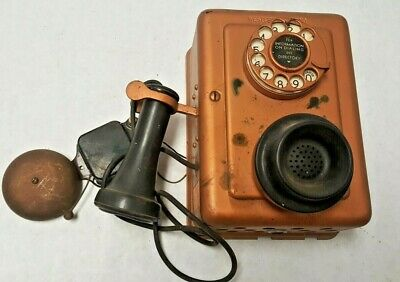 Western Electric Telephone 653-Yd With Bell Antique