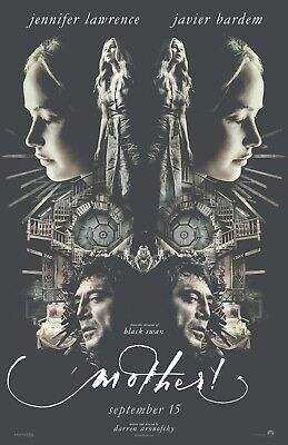 Mother movie poster (e) - Jennifer Lawrence, Javier Bardem - 11 x 17 inches