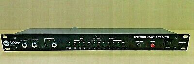 Sabine RT-1601 Rack Mountable Chromatic AutoTuner! Chromatic Scale! NO RESERVE!!