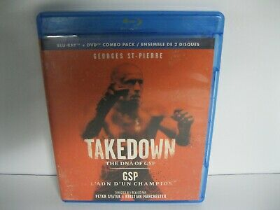 TAKEDOWN The DNA of GSP bluray movie
