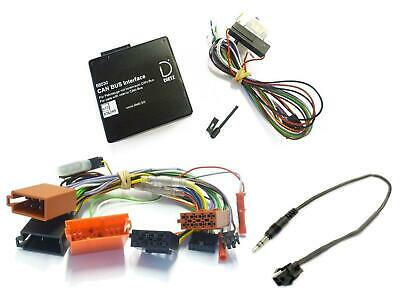 Dietz Can-Bus Lenkrad Interface Set Audi A3 A4 Mini ISO ab 2004 Alpine