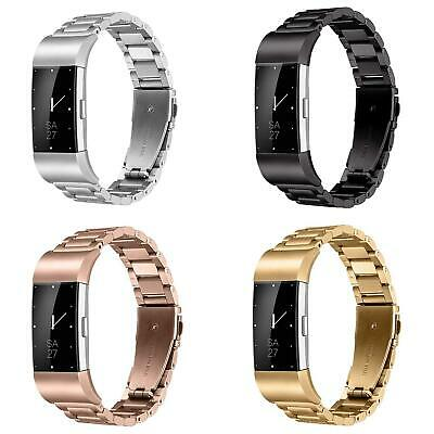 Replacement Stainless Steel Watch Band Wrist Strap for Fitbit Charge 2 Bracelet