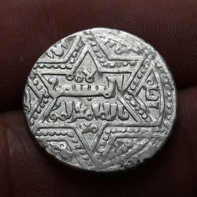 UNCERTAIN ANCIENT MEDIEVAL ISLAMIC SILVER COIN 21mm , 2.71grams