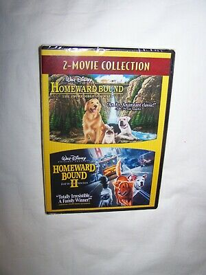 Homeward Bound: The Incredible Journey/Homeward Bound 2: Lost in (DVD 2008)