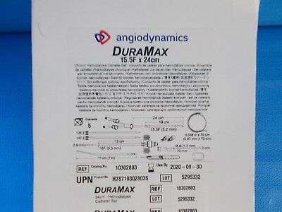 Angiodynamics DuraMax # 10302803 (Box of 5) 15.5F x 24cm Set