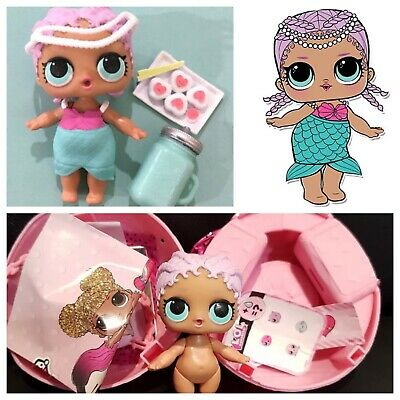 LOL Surprise Merbaby Mermaid Series 1 Doll Ball Set COMPLETE Authentic NEW HTF!!