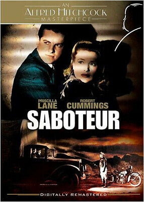 Saboteur (1942) New Dvd Free Shipping