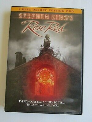 DVD Stephen King Rose Red Trimark Lions Gate video book film movie