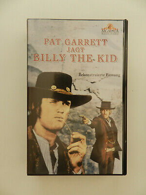 VHS Video Kassette Pat Garrett jagt Billy the Kid Coburn Kristofferson Bob Dylan