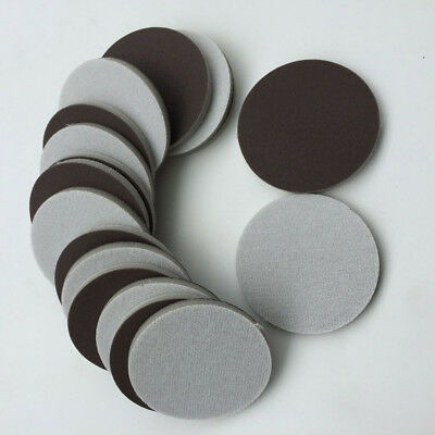 10pcs Round Sheets Sanding Disc Hook And Loop Car Wet Or Dry Sandpaper Polished