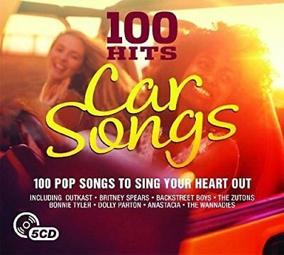 Various Artists - 100 Hits - Car Songs - Various Artists CD 4YVG The Cheap Fast