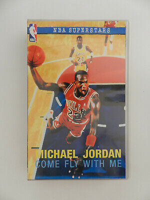 VHS Video Kassette Michael Jordan Come fly with me NBA Superstars deutsch
