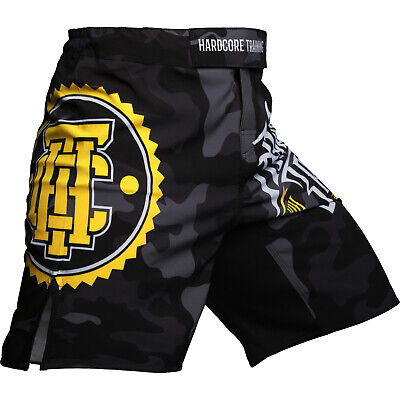 Fight Shorts Men/'s HCT Vikings On Tour MMA BJJ UFC Grappling Fitness Active GYM