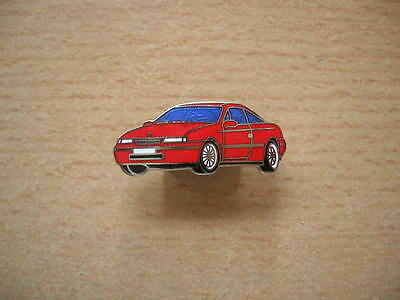 Opel Calibra Pin Badge rot 90er Jahre