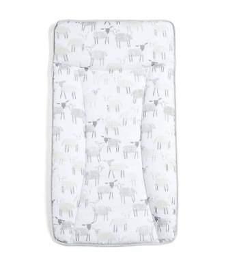Mamas & Papas Essentials Changing Mattress - Sheep
