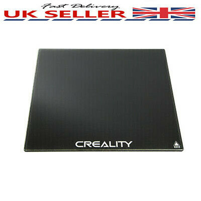 Creality 3D Ender3 Printe Heat Bed Build Surface Glass Plate 235x235mm 4mm T8X6