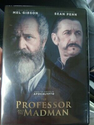 The Professor And The Madman Dvd 2019 Brand New Sealed- Ships Now