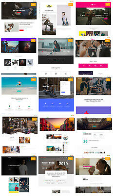 More than 150 Proffesional Demos/themes for Your Wordpress – Design your web lik