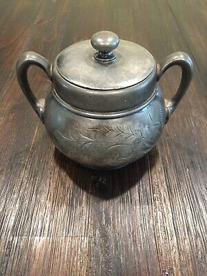 Antique Pairpoint Manufacturing Company Quadruple Silver Plated