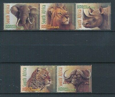 [72702] South Africa 2001 Fauna good set Very Fine MNH stamps