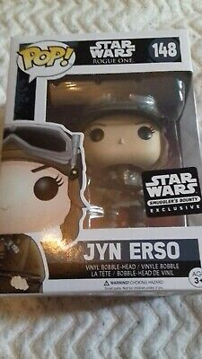 Funko Pop! Star Wars 148 Rogue One Jyn Erso Smugglers Bounty Exclusive (NEW)